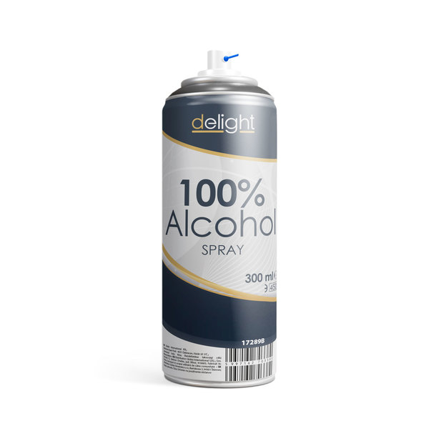 100 % alkohol spray 300 ml. 17289B
