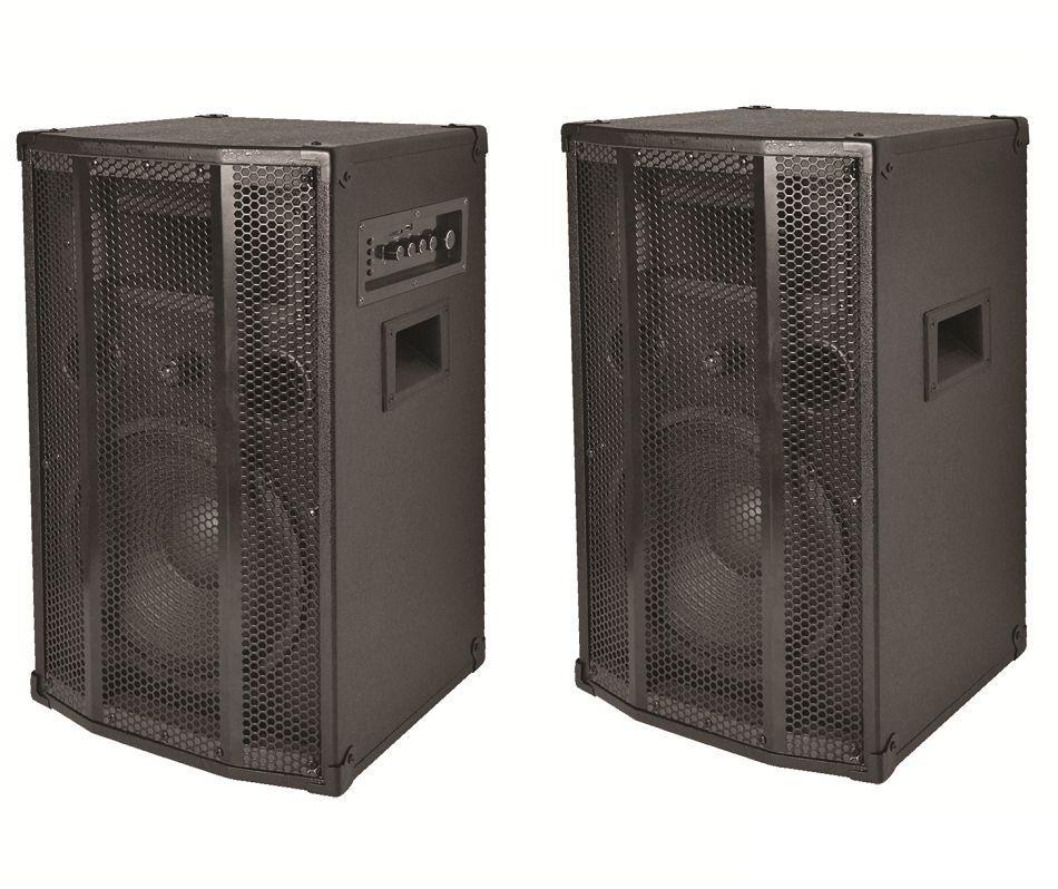 Aktív hangfalpár beépített MP3 lejátszóval. 2 x 120 W. SAL PAX 25A