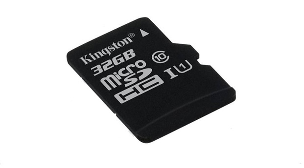 Kingston micro SD kártya, CL10. 32 GB